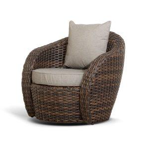 Плетеное кресло из искусственного ротанга Авела. Италия, 4sis