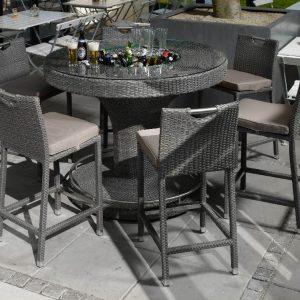 Мебель для бара полиротанг алюминий
