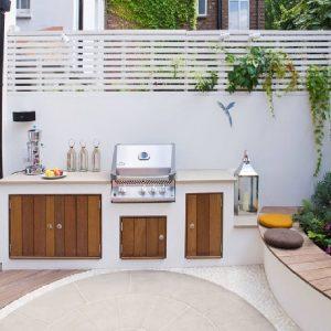 Мебель плетеная для летней кухни