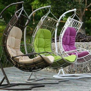 Подвесные кресла плетеные
