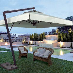 Садовые зонты для дачи, пляжа и кафе