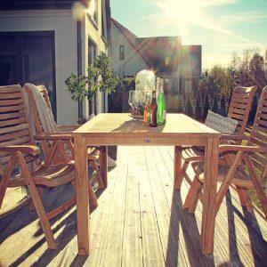 Садовая мебель из массива комплекты