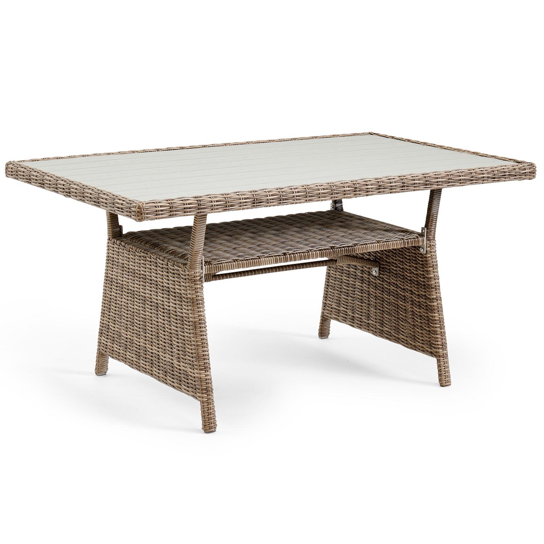 "Плетеный стол ""Soho rustic"", Brafab, Швеция."