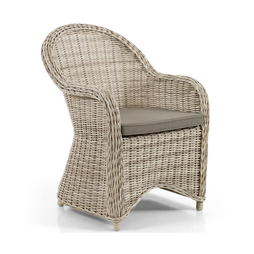 "Плетеное кресло ""Paulina beige"". Brafab, Швеция."