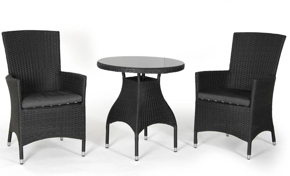 "Плетеная мебель ""Ninja black"". Brafab, Швеция."