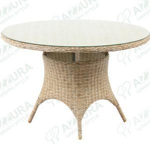 "Плетеный стол ""Riccione"", Ø 110 см"