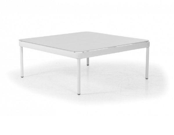 "Плетеный стол ""Ajaccio"", цвет белый"