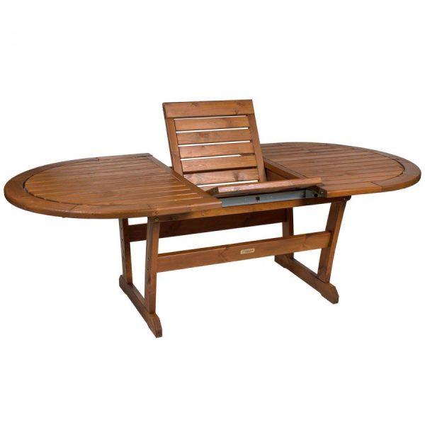 """Стол из сосны """"Solberga"""", раскладной 173/226×110 см"""