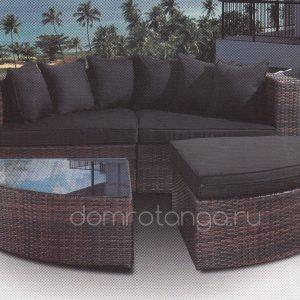 Плетеная мебель «Quarter»