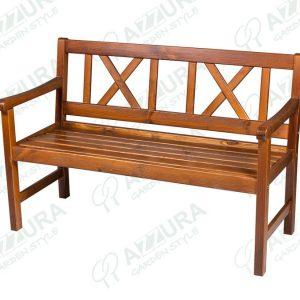 """Скамья из сосны """"Onsala"""", длина 129 см"""