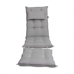 """Подушка для шезлонга """"Florina"""", цвет серый"""