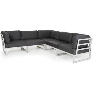 """Комплект садовой мебели из алюминия """"Atom"""" Brafab"""