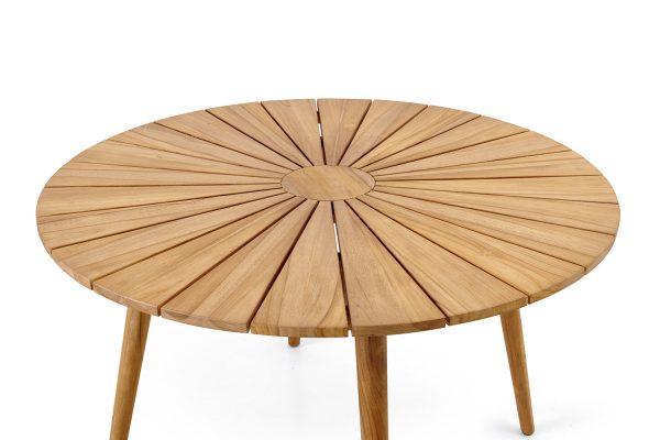"""Обеденный стол из тика """"Parga"""", Ø 120 см"""