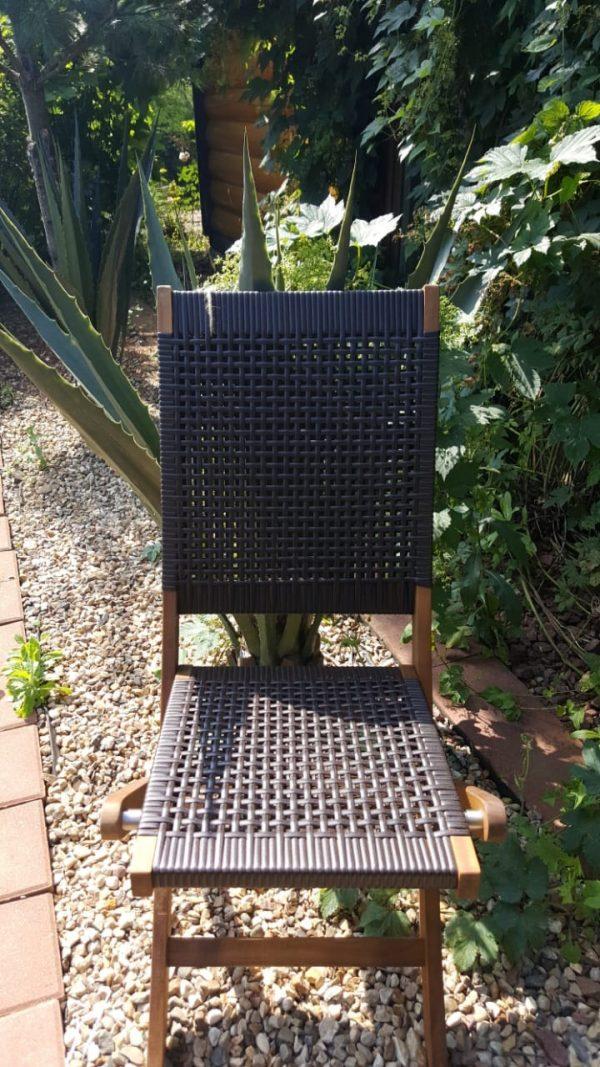 Садовая мебель «Ever ton brown» на 6 персон