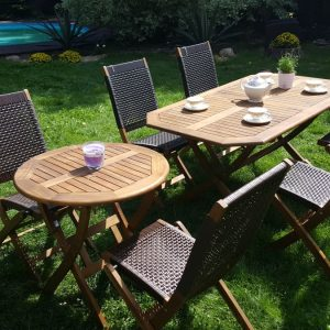 Садовая мебель «Ever ton brown» 2 Set