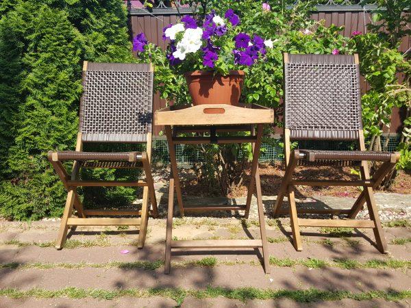 Садовая мебель «Ever ton brown» tea set