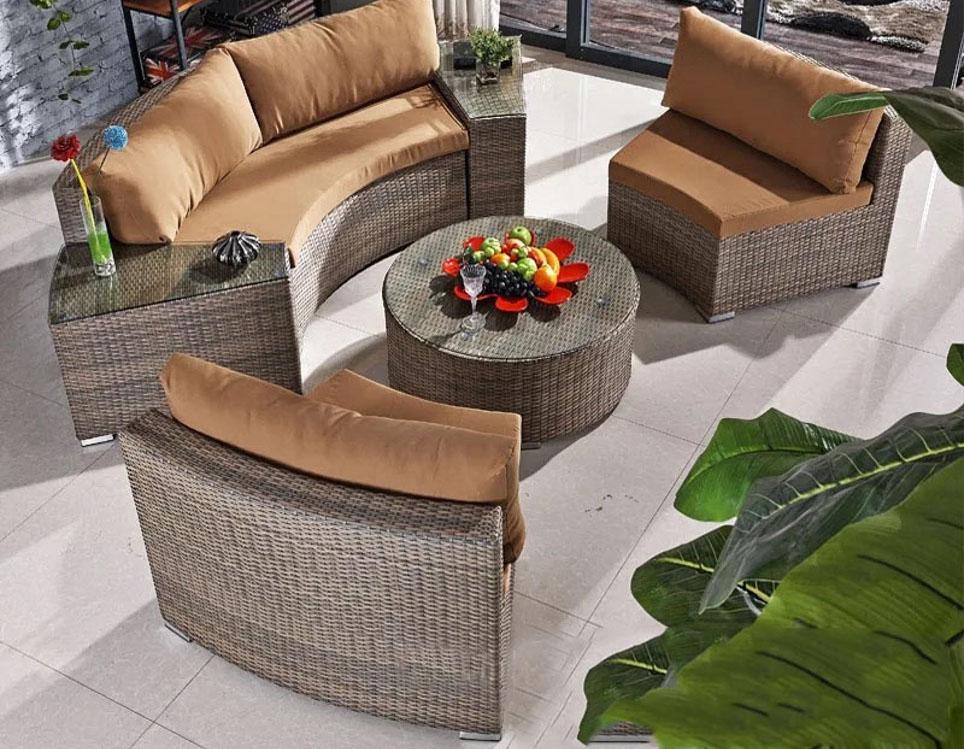 Фото-Плетеная садовая мебель Sunlinedesign