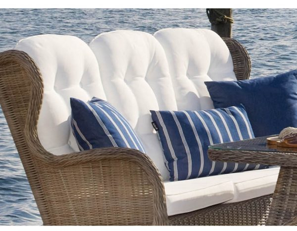 "Подушка для дивана ""Evita"", цвет белый"