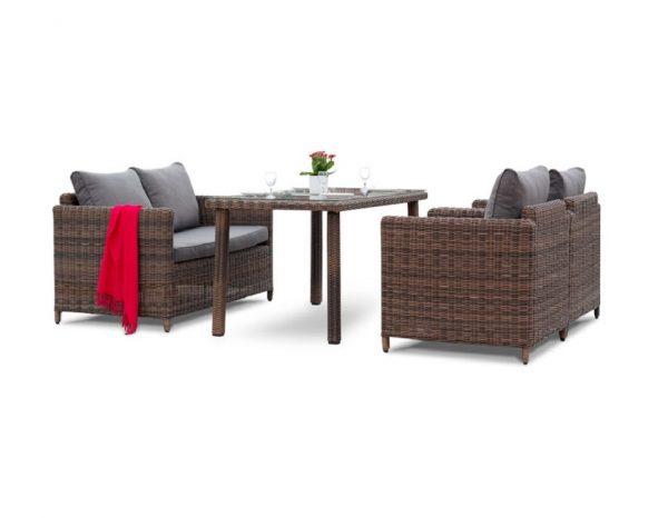 """Комплект плетеной мебели """"Макиато"""", обеденная группа"""