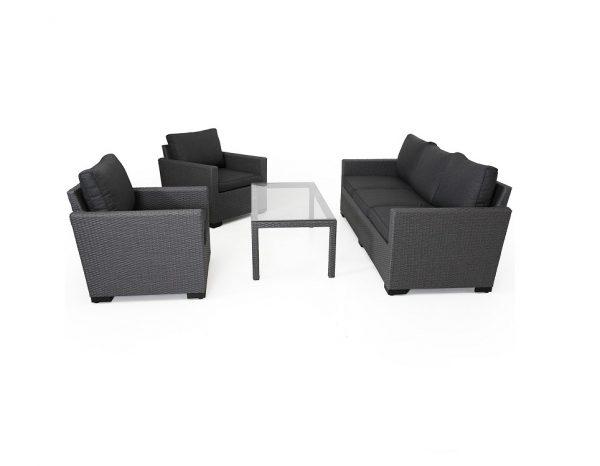 """Комплект плетеной мебели """"Canby classic set"""", цвет серый"""