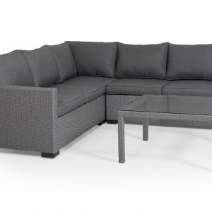 """Комплект плетеной мебели """"Canby modul set"""", цвет серый"""