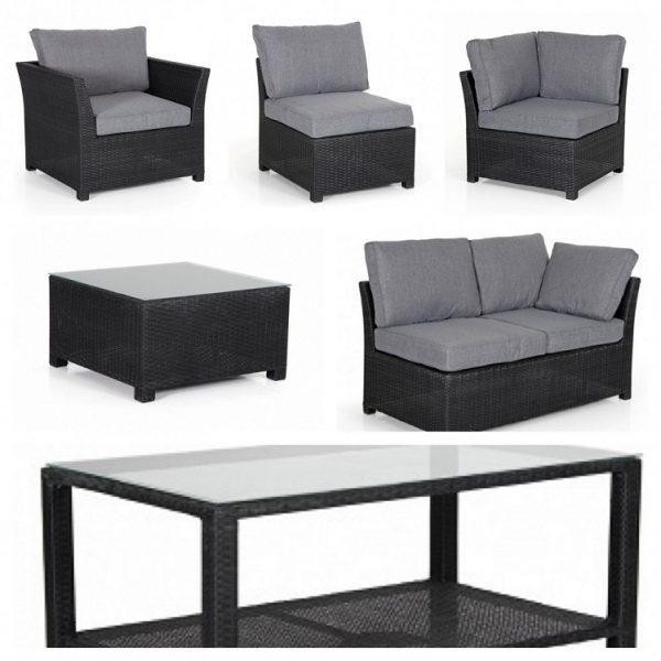 "Комплект плетеной мебели ""Madison black"""