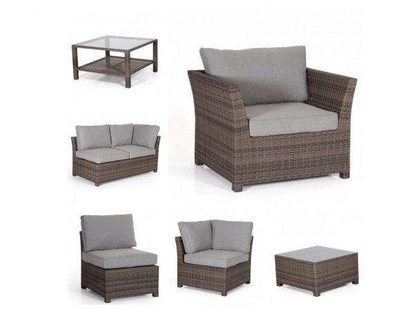 """Комплект плетеной мебели """"Madison brown"""""""