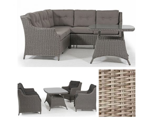 """Плетеная мебель """"Pompano"""" beige Brafab"""