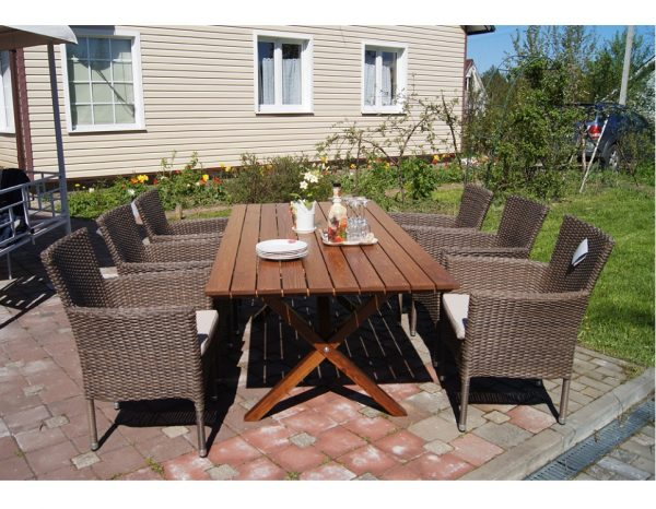 """Комплект плетеной мебели """"Visingso&Capri"""", цвет коричневый"""