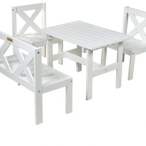 """Садовая мебель из сосны """"Milla"""", цвет белый"""