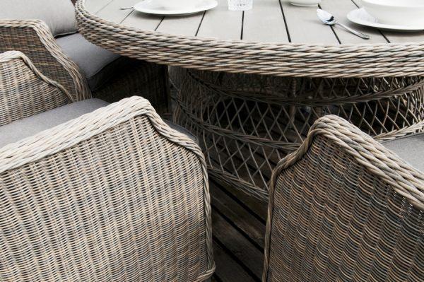 """Комплект плетеной мебели """"Неаполь"""", обеденная группа"""