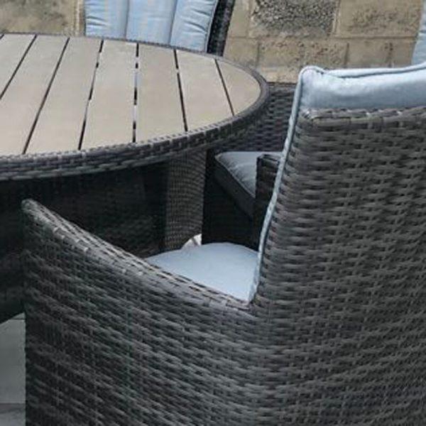 "Плетеная мебель ""Венторро"", серый"