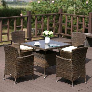 """Плетеная мебель """"Альмонте"""", цвет коричневый"""