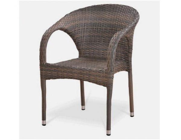 """Плетеная мебель """"Аврора"""", цвет палевый"""