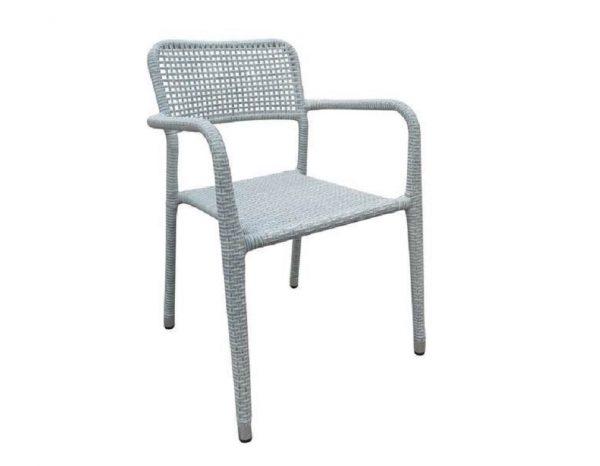 """Комплект плетеной мебели """"Alice"""", цвет светло-серый"""