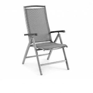 "Кресло из текстилена ""Andy"" серый/nonwood Brafab"