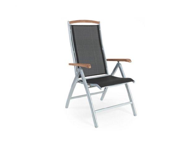 """Кресло из текстилена """"Andy"""" серый/черный Brafab"""