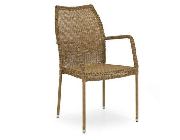 """Плетеное кресло """"Angelica"""", цвет натуральный"""