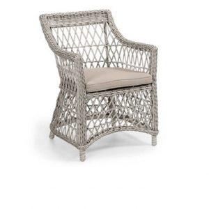 """Плетеное кресло """"Beatrice white"""""""