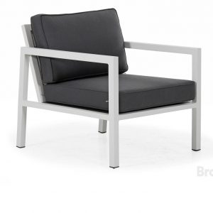 """Кресло садовое """"Belfort"""", цвет серый Brafab"""