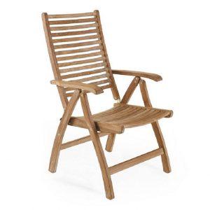 """Кресло из тика """"Calcutta"""", складное"""