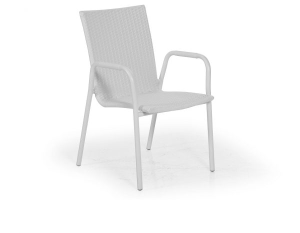 """Кресло из ротанга """"Carnac"""", цвет белый"""