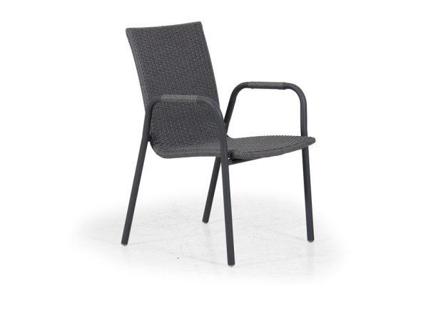 """Кресло из ротанга """"Carnac"""", цвет антрацит/серый"""