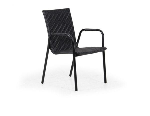 """Кресло из ротанга """"Carnac"""", цвет черный"""