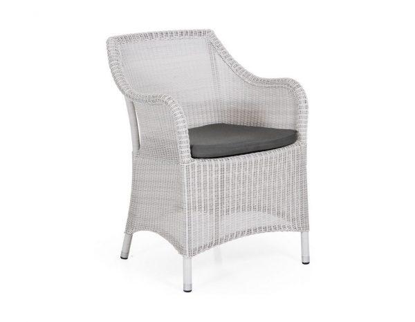 """Кресло из искусственного ротанга """"Costa white"""" Brafab"""