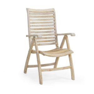 "Кресло из тика ""Karlo"", раскладное"