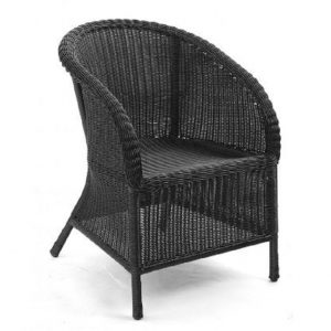 Кресло из ротанга «Magda», цвет серый Brafab