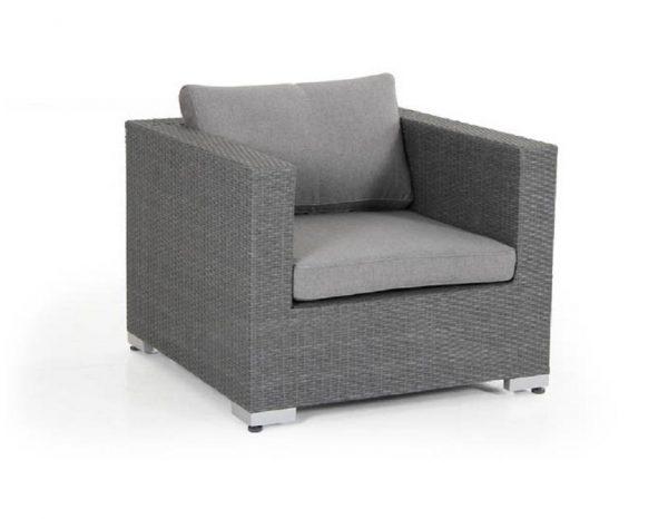 """Кресло из искусственного ротанга """"Ninja grey"""" Brafab"""