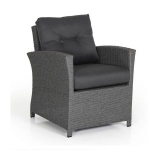 """Кресло из искусственного ротанга """"Soho grey"""" Brafab"""
