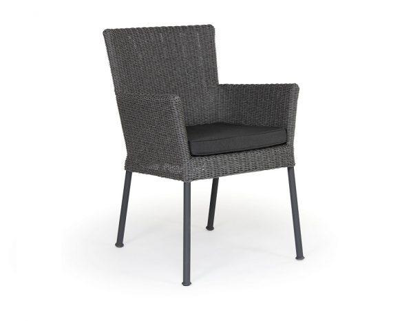 """Кресло из ротанга """"Somerset"""", цвет антрацит/серый"""